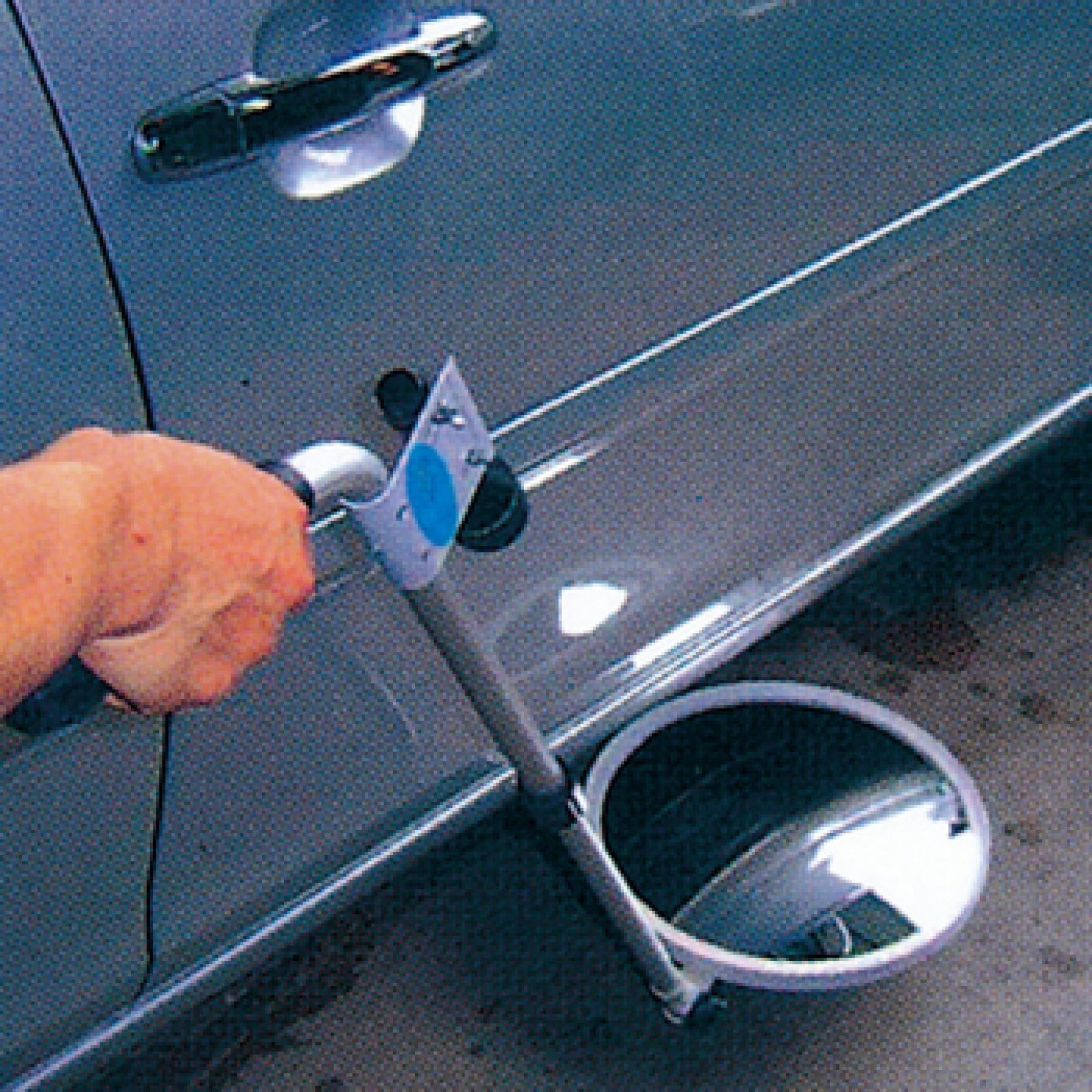 Buy Underbody Inspection Mirror On Wheels Traffic